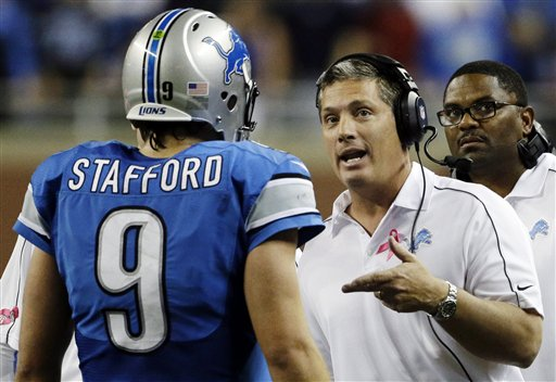 Jim Schwartz, Matthew Stafford