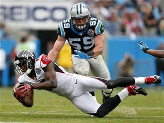 Julio Jones, Luke Kuechly