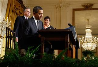 Barack Obama,  Lisa Jackson,  Ray LaHood