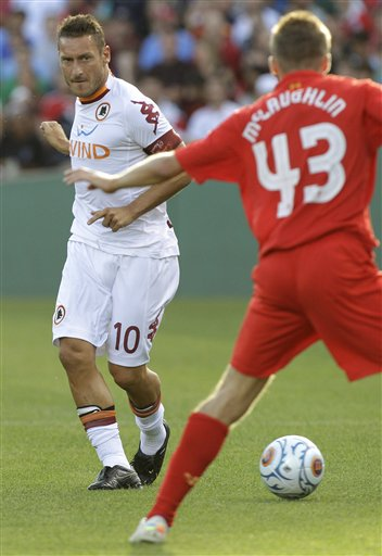 Francesco Totti, Ryan McLaughlin