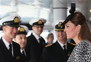 Britain Kate Cruise Ship