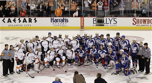 Charity Game Hockey