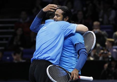 Leander Paes, Radek Stepanek,
