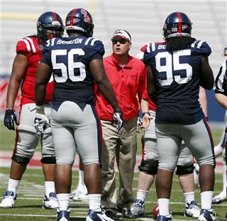 Hugh Freeze, Woodrow Hamilton, Bryon Bennett