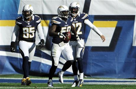 Demorrio Williams, Eric Weddle, Shaun Phillips