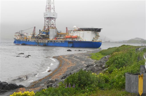 Shell Vessel-Anchorage Problem