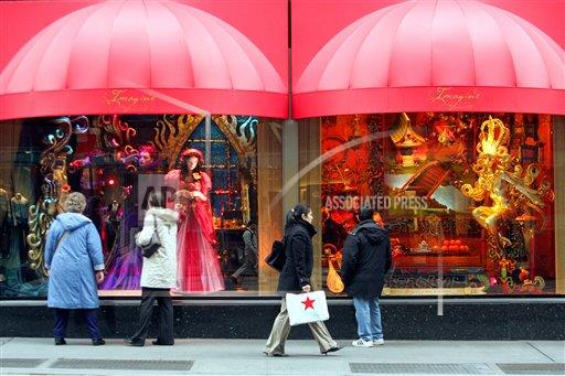 Associated Press A F New York United States HOLIDAY SHOPPING