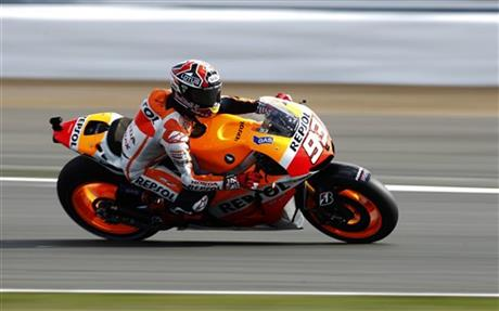 . 31, 2013. The MotoGP takes place on Sunday. (AP Photo/Matt Dunham