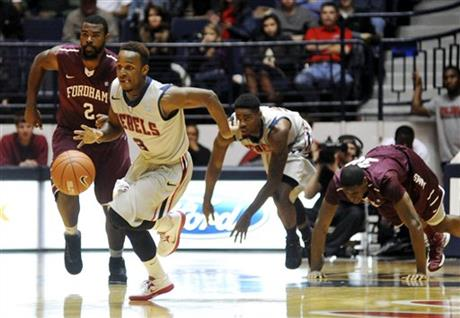 Fordham Mississippi Basketball