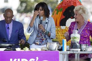 Michelle Obama, Al Roker, Anne Burrell