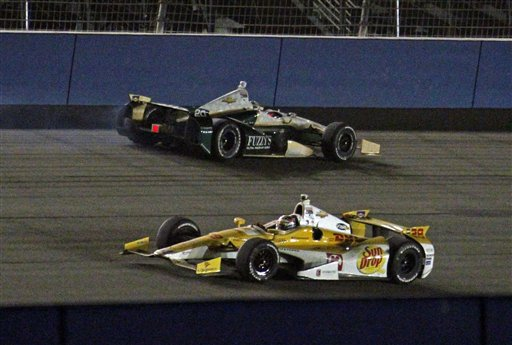 Ryan Hunter-Reay, Ed Carpenter