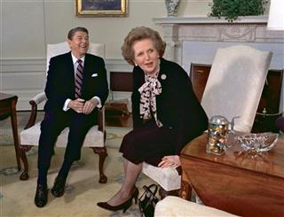 Margaret Thatcher, Ronald Reagan