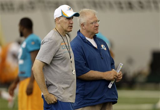 Joe Philbin and his Bestie, Mike Sherman