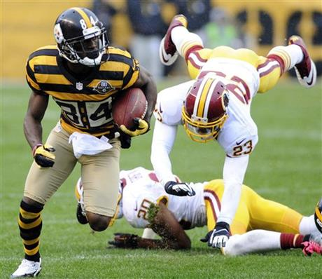 Steelers Antonio Brownc