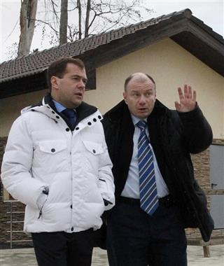 Vladimir Potanin, Dmitry Medvedev