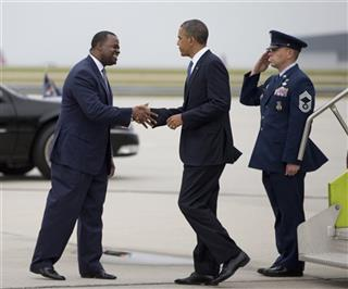 Barack Obama, Atlanta Mayor Kasim Reed