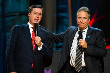 Stephen Colbert, Jon Stewart