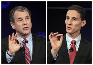 Sherrod Brown, Josh Mandel