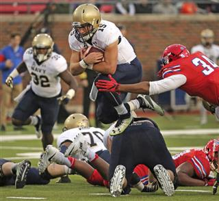 Navy SMU Football