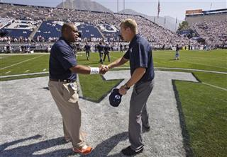 Mike London, Bronco Mendenhall