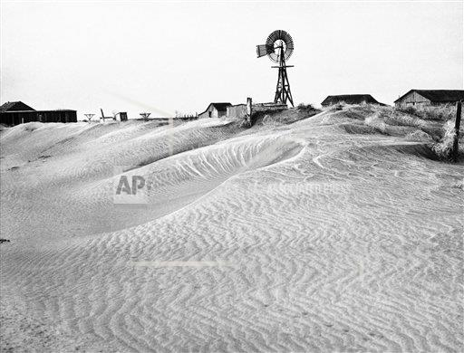Watchf Associated Press Domestic News  Oklahoma United States APHS206784 Dust Bowl 1937