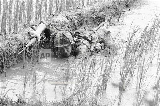 Watchf AP I   VNM APHS207328 Vietnam War US Troops