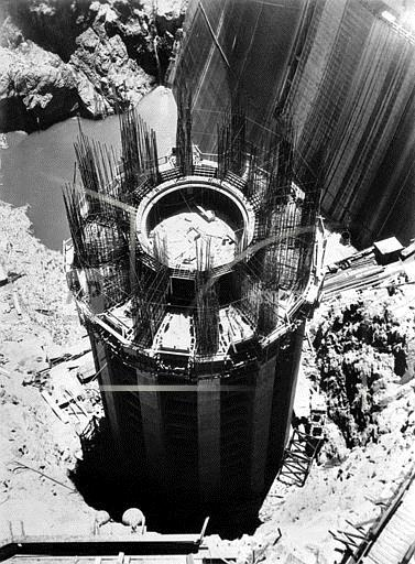Associated Press Domestic News Nevada United States HOOVER DAM CONSTRUCTION