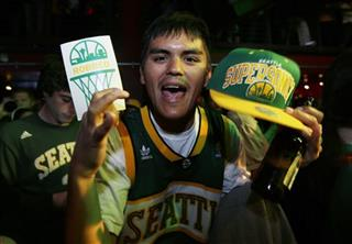 Kings Sale Supersonics Basketball