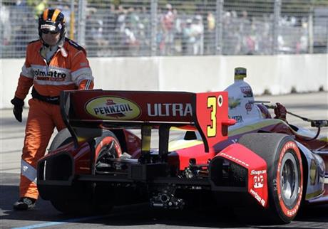 Dixon Closes In On Indycar Title In Fontana Finale Auto
