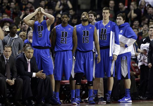 Duke Maryland Basketball