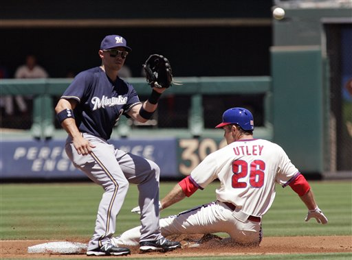 Chase Utley, Cody Ransom