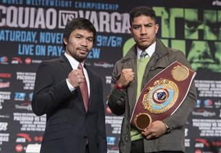 Vargas Pacquiao Boxing