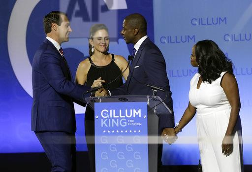 Election 2018 Governor Gillum Florida