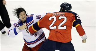 Arron Asham, George parros