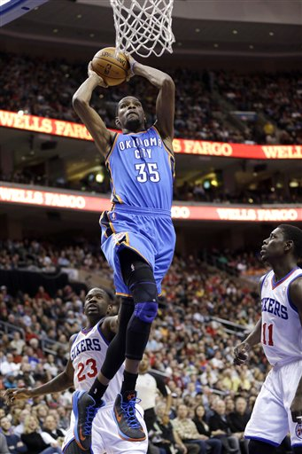 Kevin Durant, Jrue Holiday, Jason Richardson