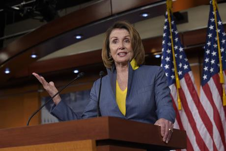 With Obama, Clinton gone, GOP revives Pelosi as boogeyman