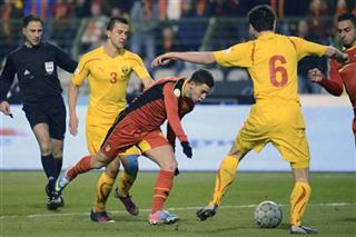 Eden Hazard, Vance Sikov, Daniel Georgievski