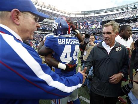 Tom Coughlin, Mike Shanahan