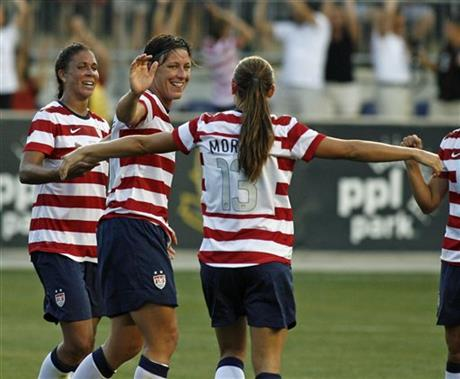 Alex Morgan, Abby Wambach