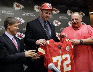 Eric Fisher, John Dorsey, Andy Reid, Clark Hunt