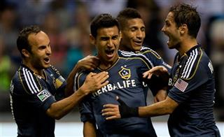 Landon Donovan, Jose Villarreal, Sean Franklin, Marcelo Sarvas