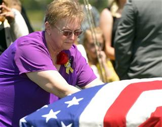 Slain Train Worker Funeral