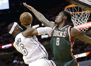 LeBron James, Larry Sanders