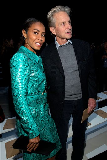 Jada Pinkett Smith and Michael Douglas