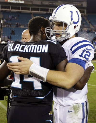 Andrew Luck, Justin Blackmon