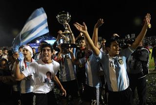 Argentina Under-17 Soccer Argentina Venezuela