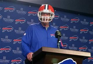 Bills Playful Rex Football
