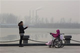 Asia Pollution Two Cities