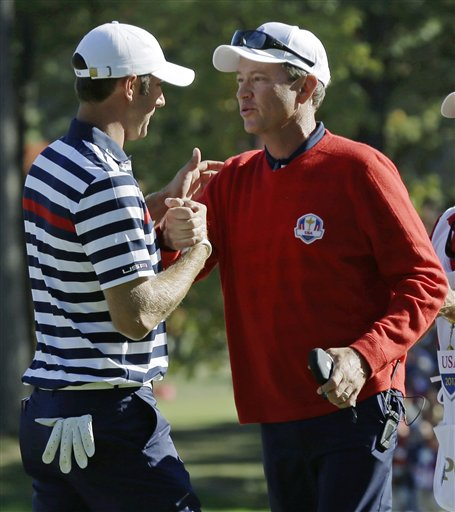 Davis Love III, Dustin Johnson