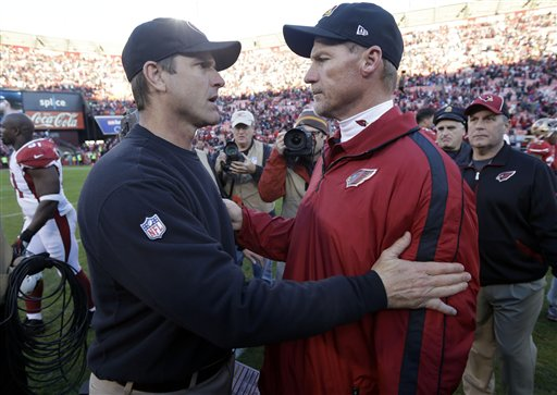 Jim Harbaugh, Ken Whisenhunt